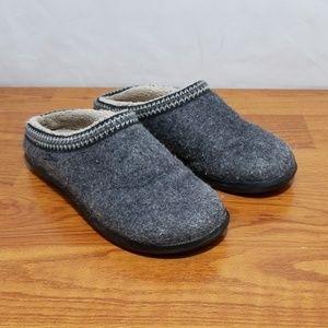 L.L. Bean Wool Scuff Slippers